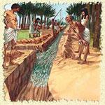 Ирригация почв в Древнем Египте