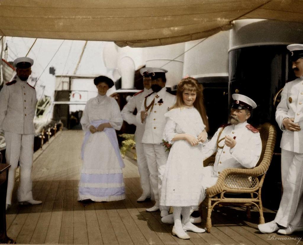 зелени царская семья редкие фото тот момент