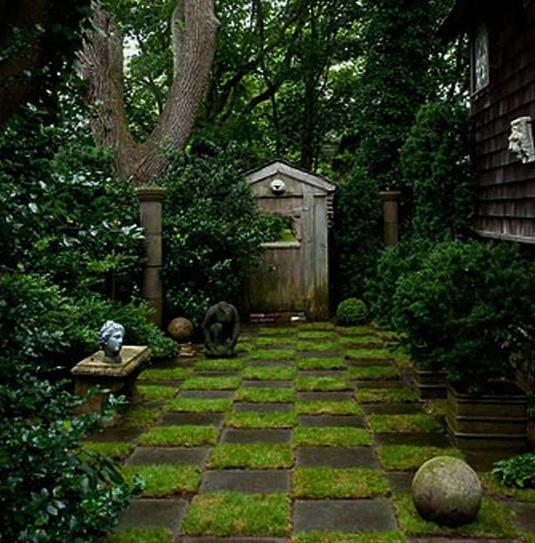 Ландшафтный дизайн садовые дорожки