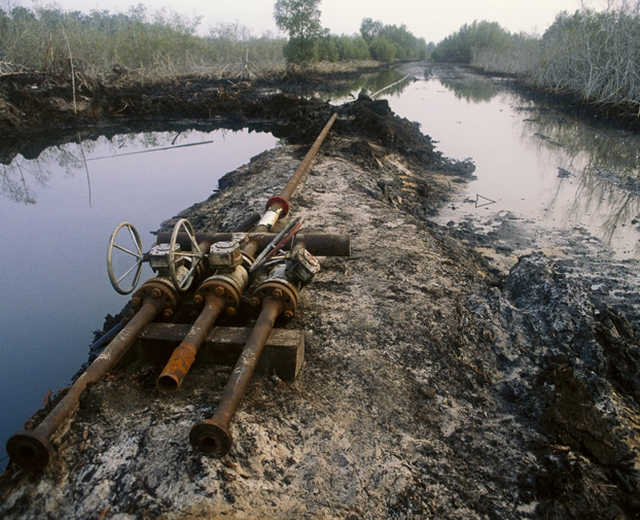 Oil Spill at Odidi, Nigeria
